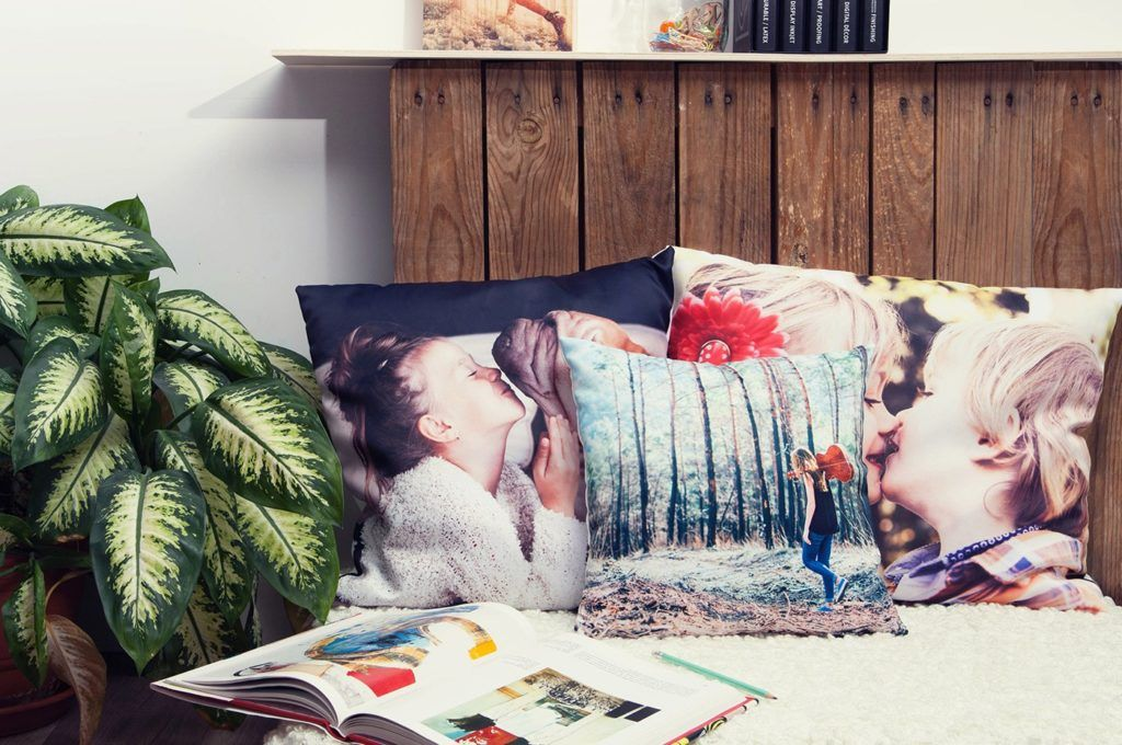 Ideas para decorar con fotos personales